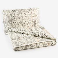 Набор 'Экофайбер', одеяло размер 110х140 см подушка 40х60 см, цвет МИКС