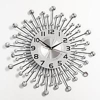 Часы настенные, серия Ажур, 'Кьети', плавный ход, 47 х 47 см, d циферблата22 см