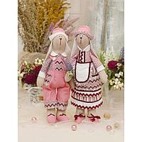 Набор для шитья и рукоделия 'Зайчики Эван и Софи'