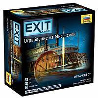 Настольная игра 'Exit. Ограбление на Миссисипи'