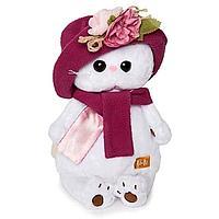 Мягкая игрушка 'Кошечка Ли-Ли' в панаме и шарфе, 24 см