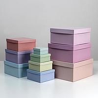 Набор коробок 10 в 1 'Только для тебя', 25,5 х 25,5 х 13 - 7 х 7 х 4 см