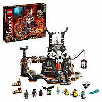 Конструктор Lego NINJAGO 'Подземелье колдуна-скелета'