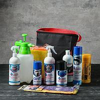 Подарочный набор для ухода и мойки авто Grand Caratt, в сумке, 10 предметов