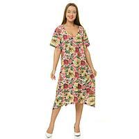 Платье женское, цвет МИКС, размер 50
