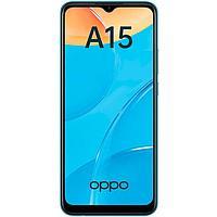 Смартфон OPPO A15, 6.52', LCD, 2 Гб, 32 Гб, 13 Мп, 4230 мАч, синий