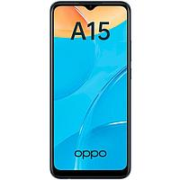 Смартфон OPPO A15, 6.52', LCD, 2 Гб, 32 Гб, 13 Мп, 4230 мАч, черный