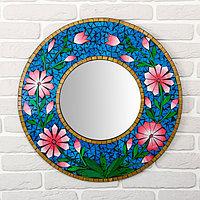 Панно зеркальное 'Цветы' 60х1х60 см