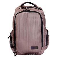 Рюкзак молодёжный, Luris 'Скейт', 42 x 27 x 17 см, эргономичная спинка, бежевый