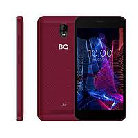 Смартфон BQ S-5047L Like, 5', TFT, 1Гб, 8Гб, 2 Мп, 2000 мАч, красный