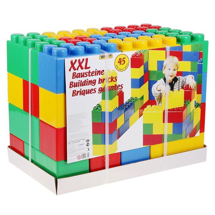 Конструктор строительный XXL, 45 деталей - фото 2