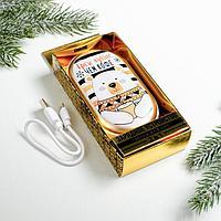 Зарядное устройство и грелка для рук 'Грею лучше, чем кофе', 10,2 х 5,9 см