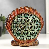 Сувенир керамика 'Морская ракушка' 18,5х19х7,5 см