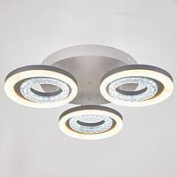 Люстра с ПДУ 74629/3 LED 85Вт диммер 3000-6000К белый 55х55х12,5 см