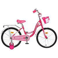 Велосипед 20' Graffiti Premium Girl, цвет розовый/белый