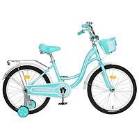 Велосипед 20' Graffiti Premium Girl, цвет мятный/белый