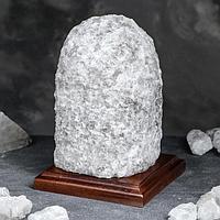 Соляная лампа 'Гора большая', цельный кристалл, 15,5 см, 4-5 кг