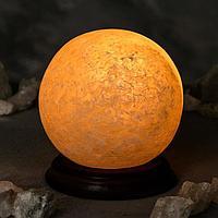 Соляная лампа 'Шар малый', цельный кристалл, 13х13х14см, 2-3 кг
