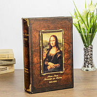 Сейф-книга 'Мона Лиза' с декоративными уголками