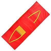 Сумка - коврик для спорта и отдыха 2 в 1, цвет красный
