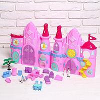 Замок для кукол 'Сказочный замок' свет, с аксессуарами
