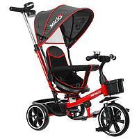Велосипед трехколесный Micio Veloce, колеса EVA 10'/8', цвет красный