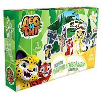 Мягкий игровой набор Лео и Тиг, 7 героев, 27 элементов
