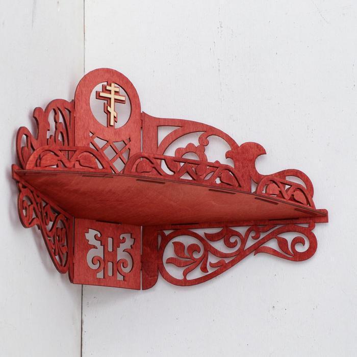 Иконостас 13, цвет красное дерево, 30х20,5х46 см - фото 2