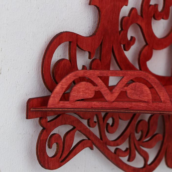 Иконостас 13, цвет красное дерево, 30х20,5х46 см - фото 3