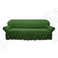 Чехол для мягкой мебели диван 3-х местный 6016, трикотаж, 100 п/э