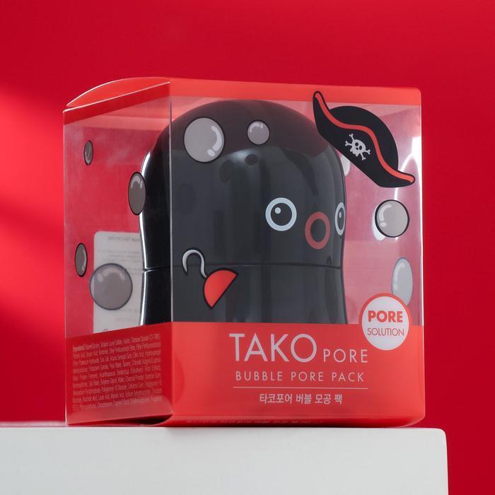 Пузырьковая маска TONYMOLY Tako Pore Bubble Pore Pack для проблемной кожи лица, 65 г - фото 1