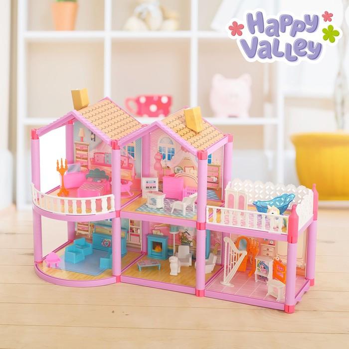 Дом для кукол 'Кукольный домик' с мебелью и аксессуарами - фото 1