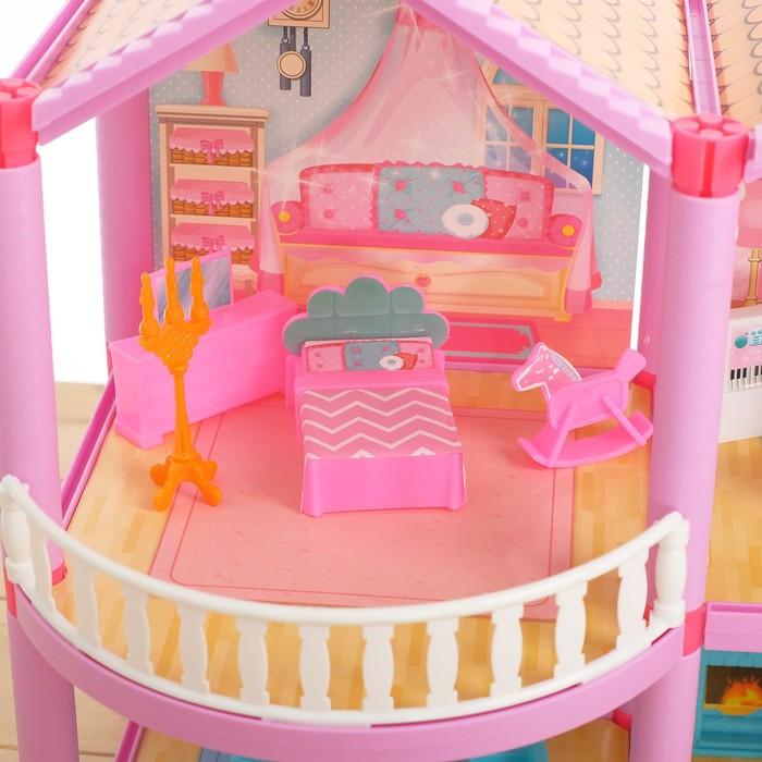 Дом для кукол 'Кукольный домик' с мебелью и аксессуарами - фото 2