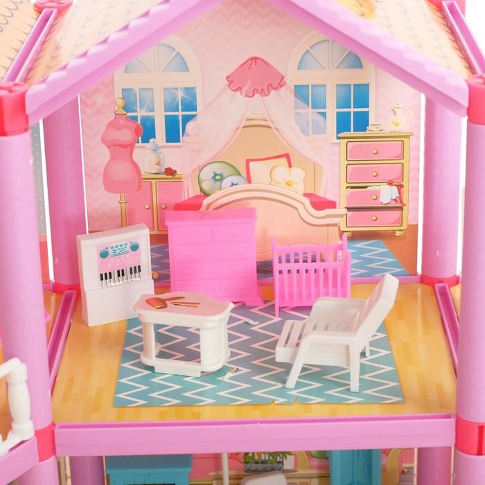Дом для кукол 'Кукольный домик' с мебелью и аксессуарами - фото 3