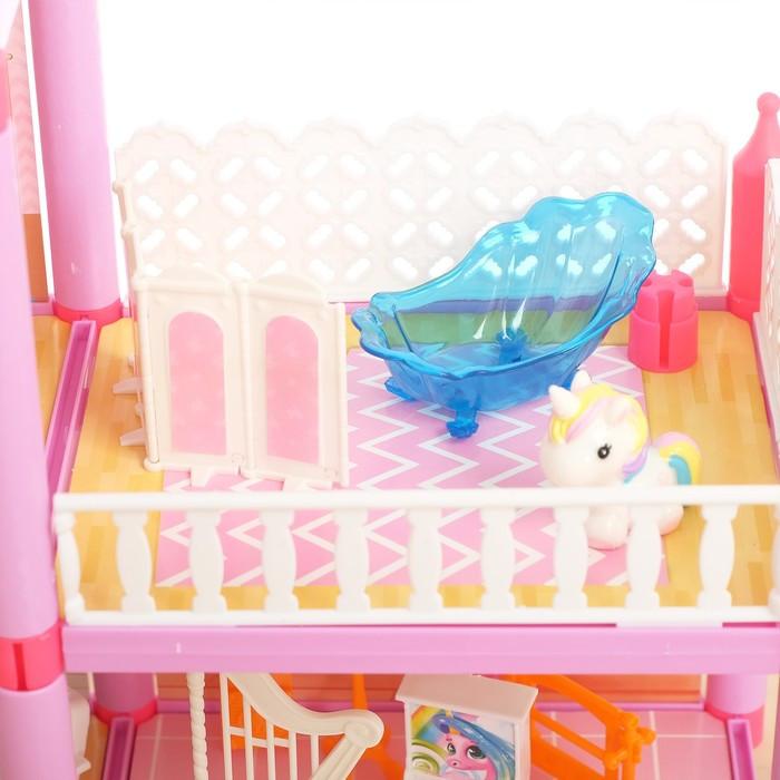 Дом для кукол 'Кукольный домик' с мебелью и аксессуарами - фото 4