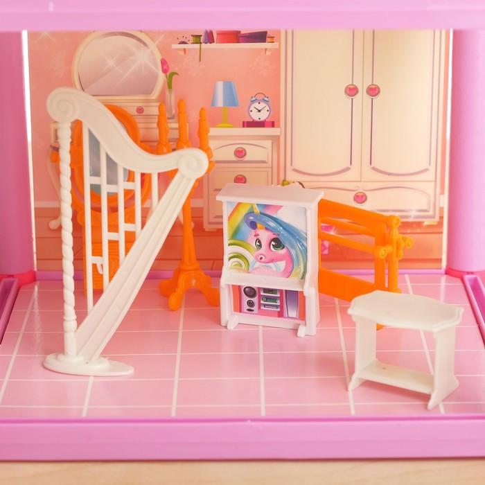 Дом для кукол 'Кукольный домик' с мебелью и аксессуарами - фото 5