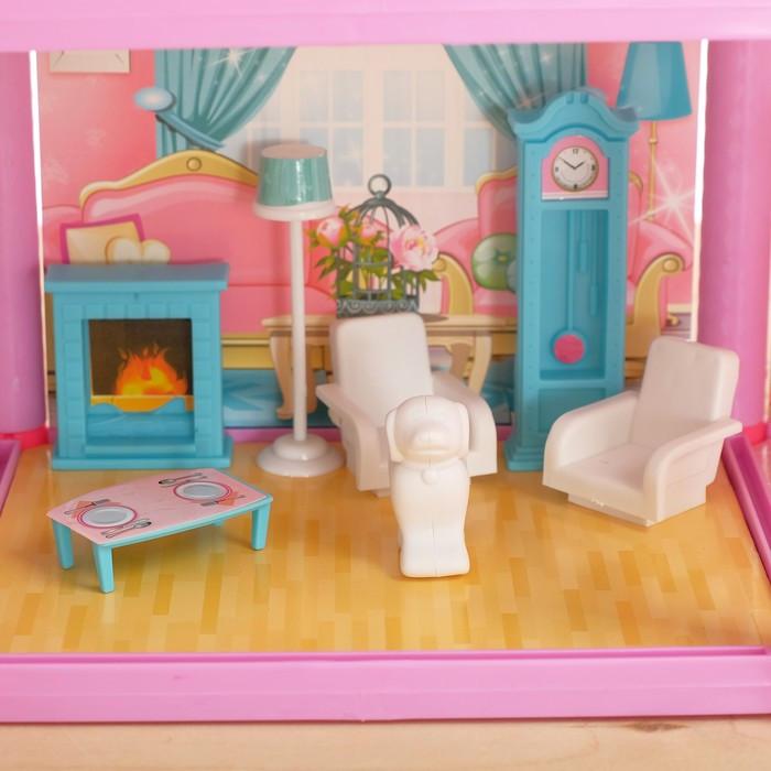 Дом для кукол 'Кукольный домик' с мебелью и аксессуарами - фото 6