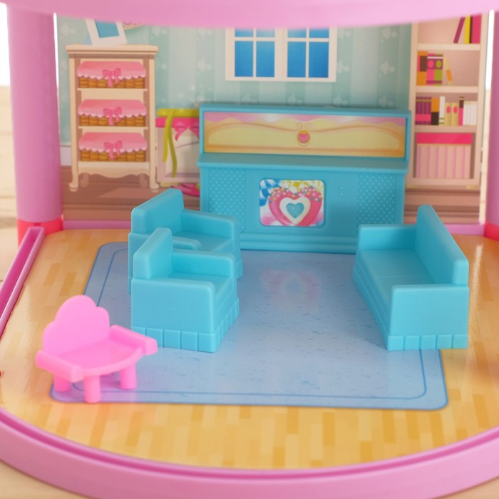 Дом для кукол 'Кукольный домик' с мебелью и аксессуарами - фото 7