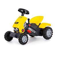 Педальная машина для детей 'Turbo-2', цвет жёлтый
