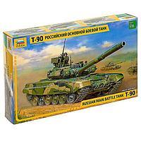 Сборная модель 'Российский основной боевой танк Т-90'