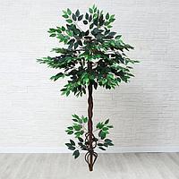 Дерево искусственное с корнями 140 см МИКС