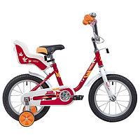 Велосипед 14' Novatrack Maple, цвет красный