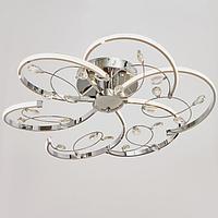 Светильник c ПДУ 69540/1 LED 72Вт диммер хром 65х65х18 см