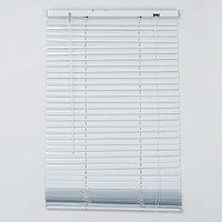 Жалюзи горизонтальные, 50x160 см, цвет белый