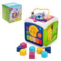 Развивающая игрушка 'Куб', с сортером