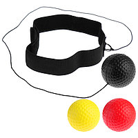 Эспандер 'Боевой мяч', для боксёра, теннисиста, набор 3 мяча