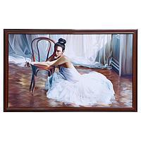 Картина 'Девушка балерина' рамка микс 66х106см