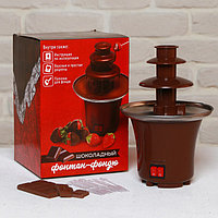 Набор 'Шоколадный фонтан' автомат для приготовления фондю, палочки, инструкция, рецепты