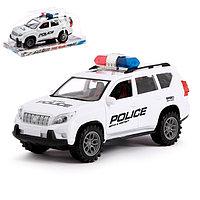Машина инерционная 'Полицейский джип'
