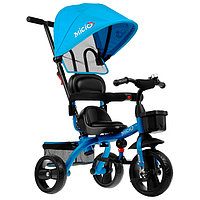 Велосипед трехколесный Micio Gioia, колеса EVA 10'/8', цвет синий